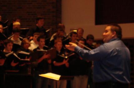 Pax, from Mass ~ Leonard Bernstein Ball State Recital Chorus