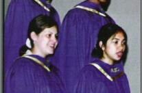 Anaheim High School choir members