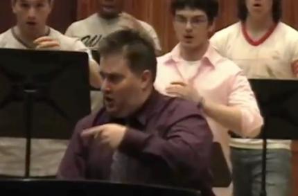 Rehearsal Video ~ Vocalises Ball State University Statesmen